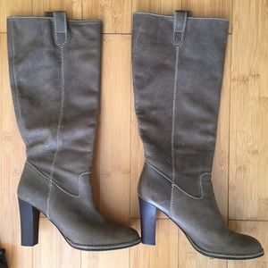 Banana Republic Pebble Leather Tall Boots